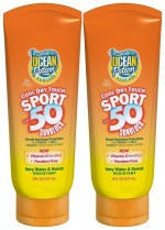 Ocean Potion Cool Dry Touch Sport SPF 50 sunscreen