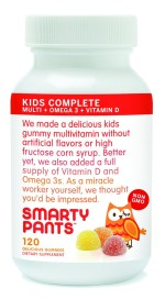SmatyPants Kids Complete Gummy Vitamins