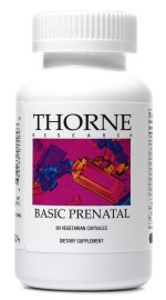 Thorne Research Basic Prenatal Multivitamin